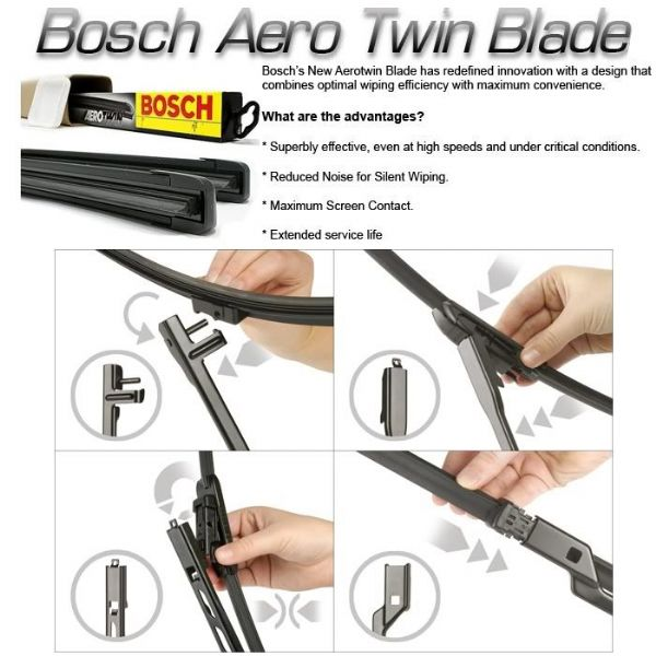 Bosch Rear 'Super Plus' Windscreen Wiper Blade Vauxhall Astra (H) Estate (04-10)